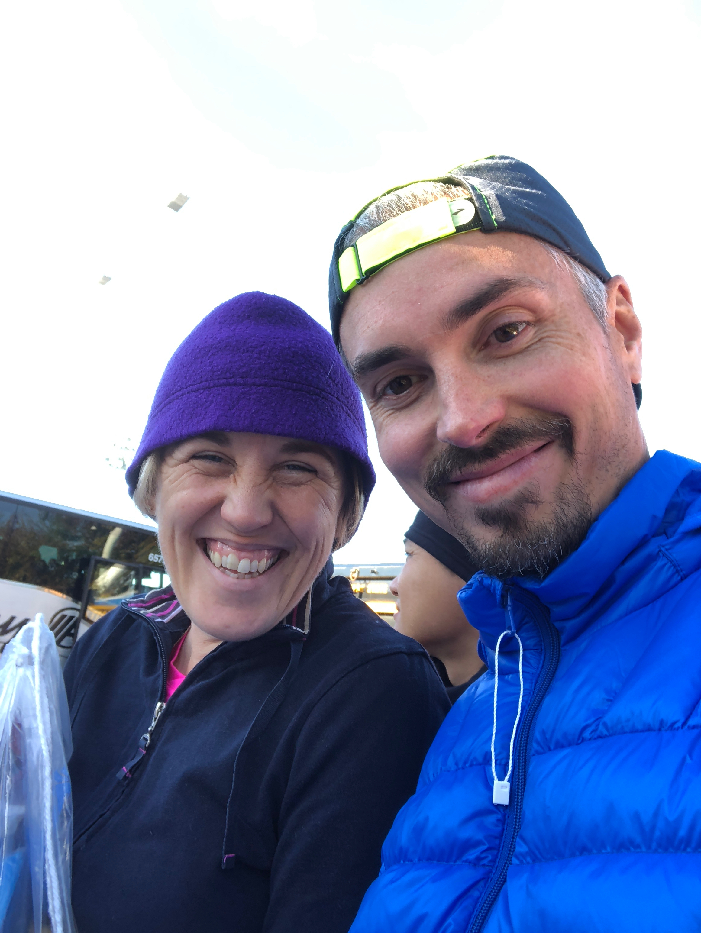 Amand and I - NYC Marathon November 4, 2018