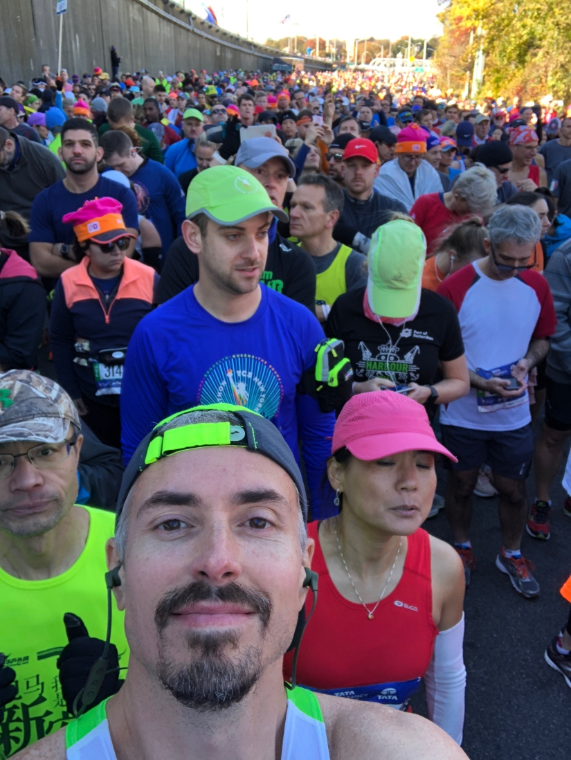 People behind me at the start